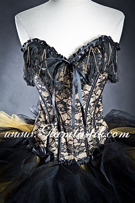 custom size black  gold lace chain  tulle