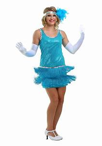 Flapper Sequin and Fringe Costume
