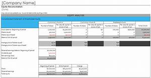 Fill In Calendar Template Shareholder Equity Report Template