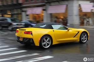 Corvette C7 Cabriolet : chevrolet corvette c7 stingray convertible 26 april 2015 autogespot ~ Medecine-chirurgie-esthetiques.com Avis de Voitures