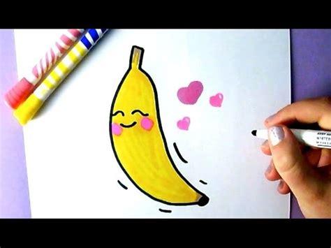 cute food   draw  cute banana banane dessin