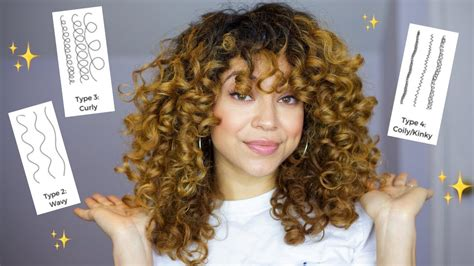 Find Your Curl Type All Hair Types w/ Pictures YouTube