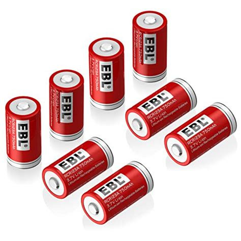 Best Rechargeable Cr123a Lithium Batteries by 10 Best Rechargeable Cr123 Batteries For 2020 Top Reviews