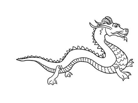 Ancient Chinese Dragon Drawing At Getdrawingscom Free