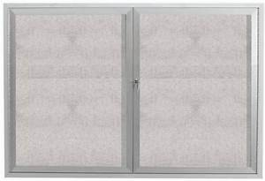 aarco rhi3630f removable letter panel for enclosed With removable letter board