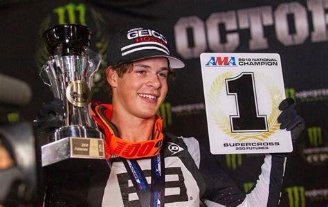 jett lawrence wins  futures  monster energy cup australasian dirt bike magazine