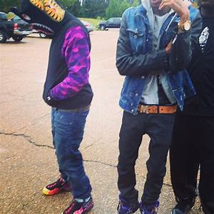 "Wale in Nike Air Foamposite Pro ""Asteroid"" - SneakerNews.com"