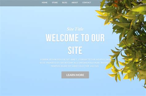 Free Website Themes 6 Weebly Themes Website