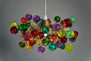 Glass Lamp Shades For Wall Lights by 15 Incredibly Colorful Handmade Ceiling Lamp Designs