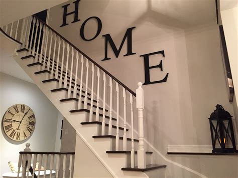 modern farmhouse stairway farm house staircase wall