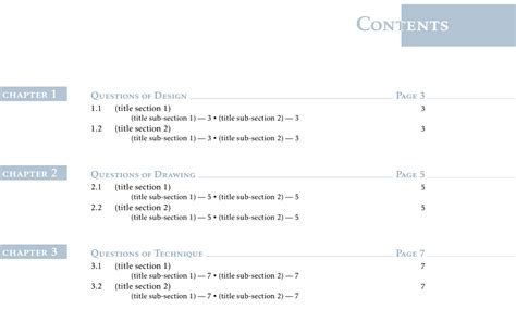 How To Customize The Table Of Contents Using Tikz? Tex