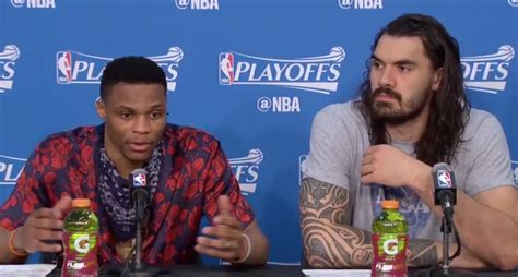 Russell Westbrook Went Off On A Reporter Who Asked A