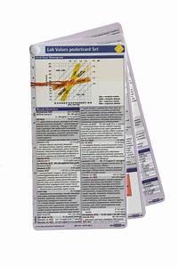 Lab Values Pocketcard Set  U2013 B U00f6rm Bruckmeier Publishing Llc