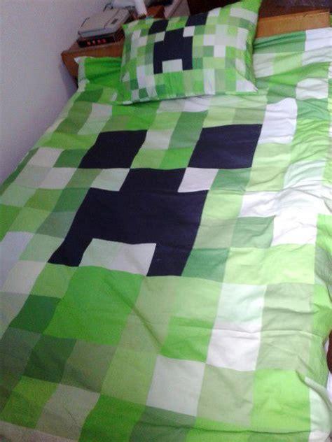 minecraft comforter set minecraft bed set kawaii creeper cotton single
