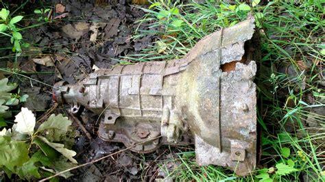 gm turboglide transmissions  buried   plant