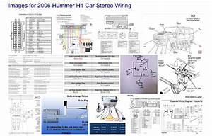 Car Wiring Diagrams  2006 Hummer H2 Sut Stereo Wiring Diagrams