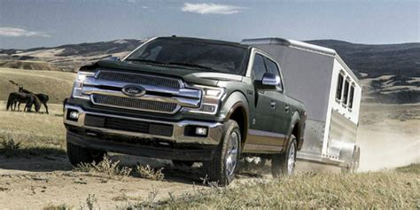 Engine Options And Towing Capacity Of The 2018 Ford F-150