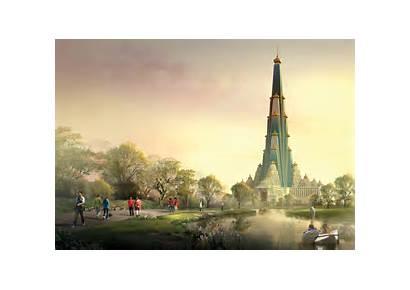 Vrindavan Temple Chandrodaya Mandir Pradesh Uttar Indian