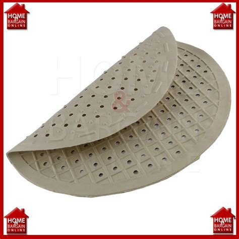 new cream round rubber mat kitchen drainer protector