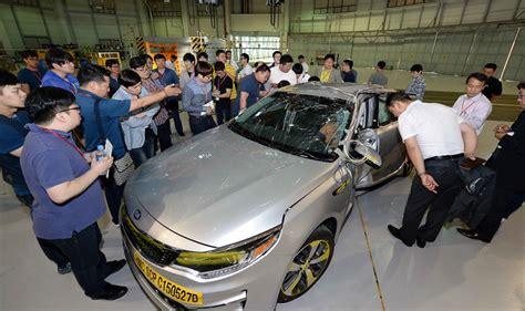 기아자동차 신형 K5 충돌테스트 논란 '수출용 K5로 밝혀져'