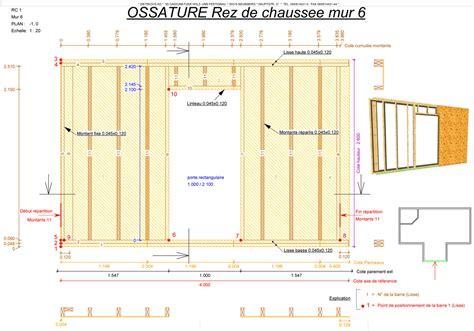 Plan Canapã Bois Amazing Schema Mur Ossature Bois 4 3 Le Montage