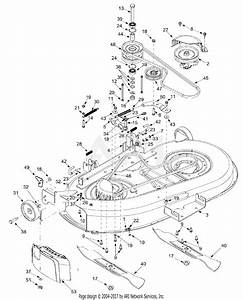 Mtd 13bd604g401  2002  Parts Diagram For 42 Inch Cutting Deck