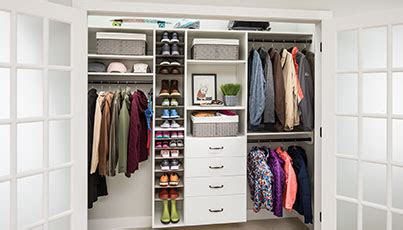 Inexpensive Closet Organization Ideas by Ideas To Organize Your Custom Closet Garage Closets