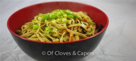 hakka noodles recipe indo chinese recipe  cloves capers