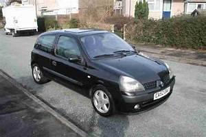 Clio 2 2002 : renault 2002 clio 1 4 dynamique black 65k miles 3 door car for sale ~ Medecine-chirurgie-esthetiques.com Avis de Voitures