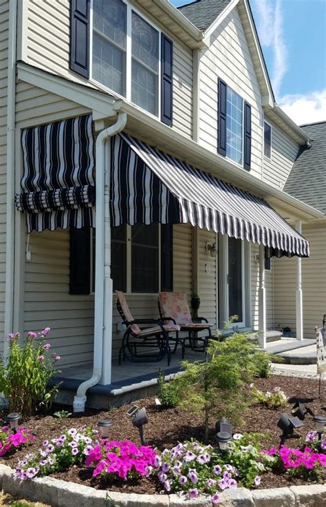porch awning   pleated drop curtain kreiders canvas service