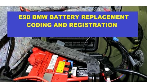bmw e90 batterie bmw e90 3 series battery replacement with registration coding switch from 90 ah to 80 ah