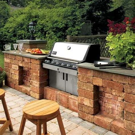 diy outdoor kitchen ideas 12 diy inspiring patio design ideas