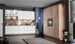 L Küche Günstig : nolte l k che feel wei timber steineiche g nstig kaufen ~ Frokenaadalensverden.com Haus und Dekorationen