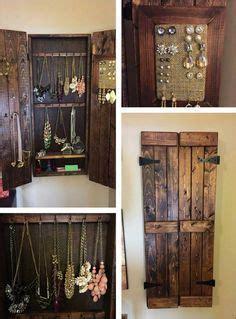 pallet wood jewelry rack design wooden pallet jewelry
