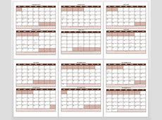 December 2018 Calendar Word Ending Free Printable Blank