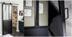 Porte De Placard Style Verriere : o trouver une porte coulissante atelier style verri re ~ Nature-et-papiers.com Idées de Décoration