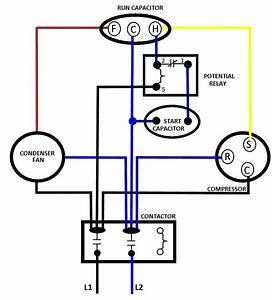 Electric Motor Capacitor Wiring Diagram