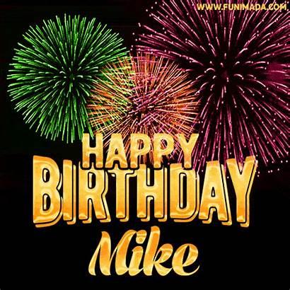 Mike Birthday Happy Animated Card Funimada Cards