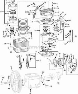 Speedaire 5z404c  5f235c  5f566a Air Compressor Parts