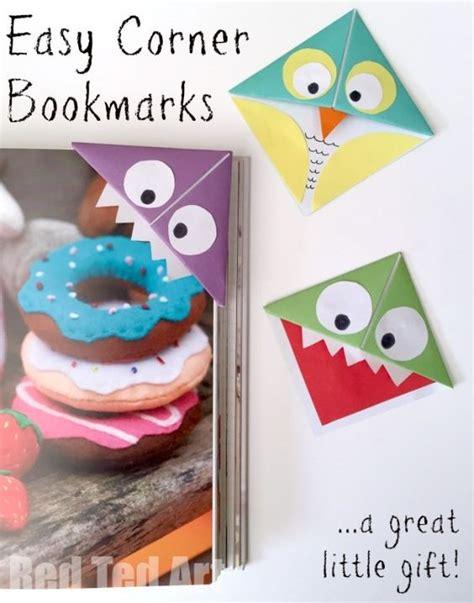 monster corner bookmarks  owls teaching corner
