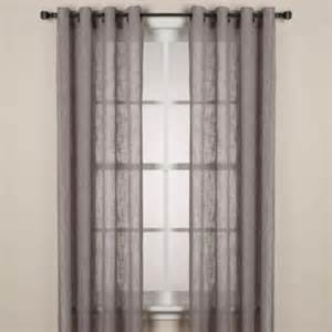 alton solid grommet window curtain panel taupe beds and