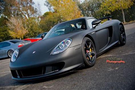 matte black porsche carrera gt top speed