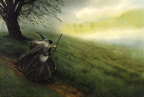 Lord Of The Rings 1920x1080 Wallpapers The Lord Of The Rings Gandalf John Howe The Hobbit Wallpapers Hd Desktop And Mobile Backgrounds