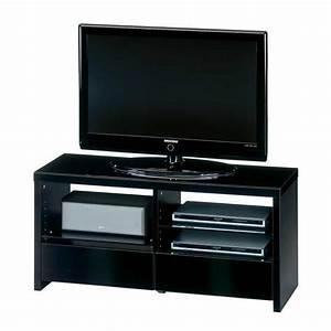 Hifi Tv Rack : tv rack holz glas schwarzglas fernsehtisch lowboard tv ~ Michelbontemps.com Haus und Dekorationen