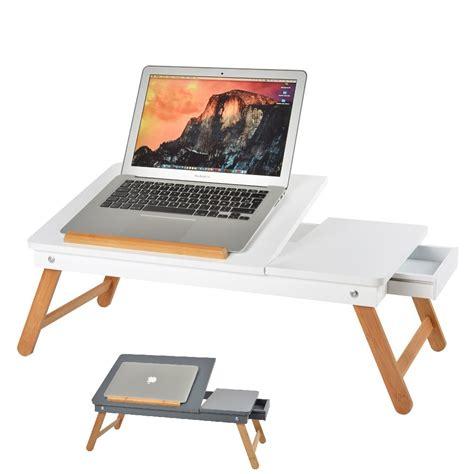 tavolino pc letto tavolino notebook vassoio in legno per pc tavolo