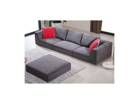 la maison du canapé montbazon canapé modulable en tissu houston gris ou prune