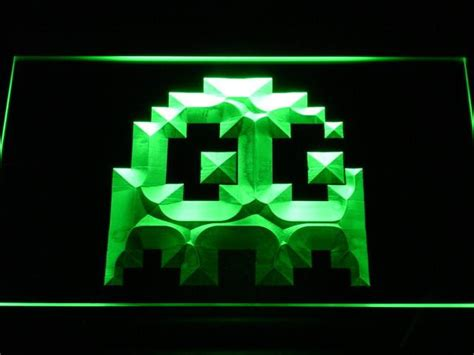 Pac-man Ghost Led Neon Sign