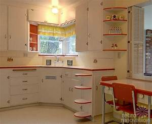 dream kitchen vintage retro on pinterest vintage With kitchen colors with white cabinets with red circle stickers