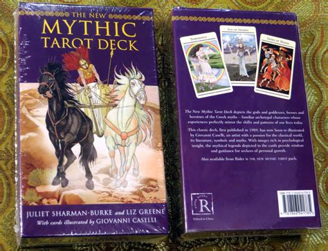 new mythic tarot deck tarot cards in the clouds