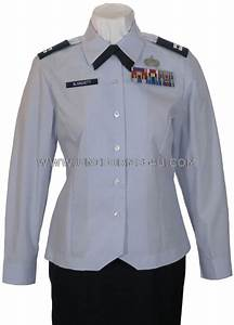USAF FEMALE OFFICER BLOUSE UNIFORM